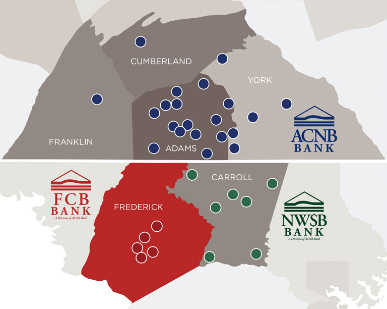 FCB Bank Area Map
