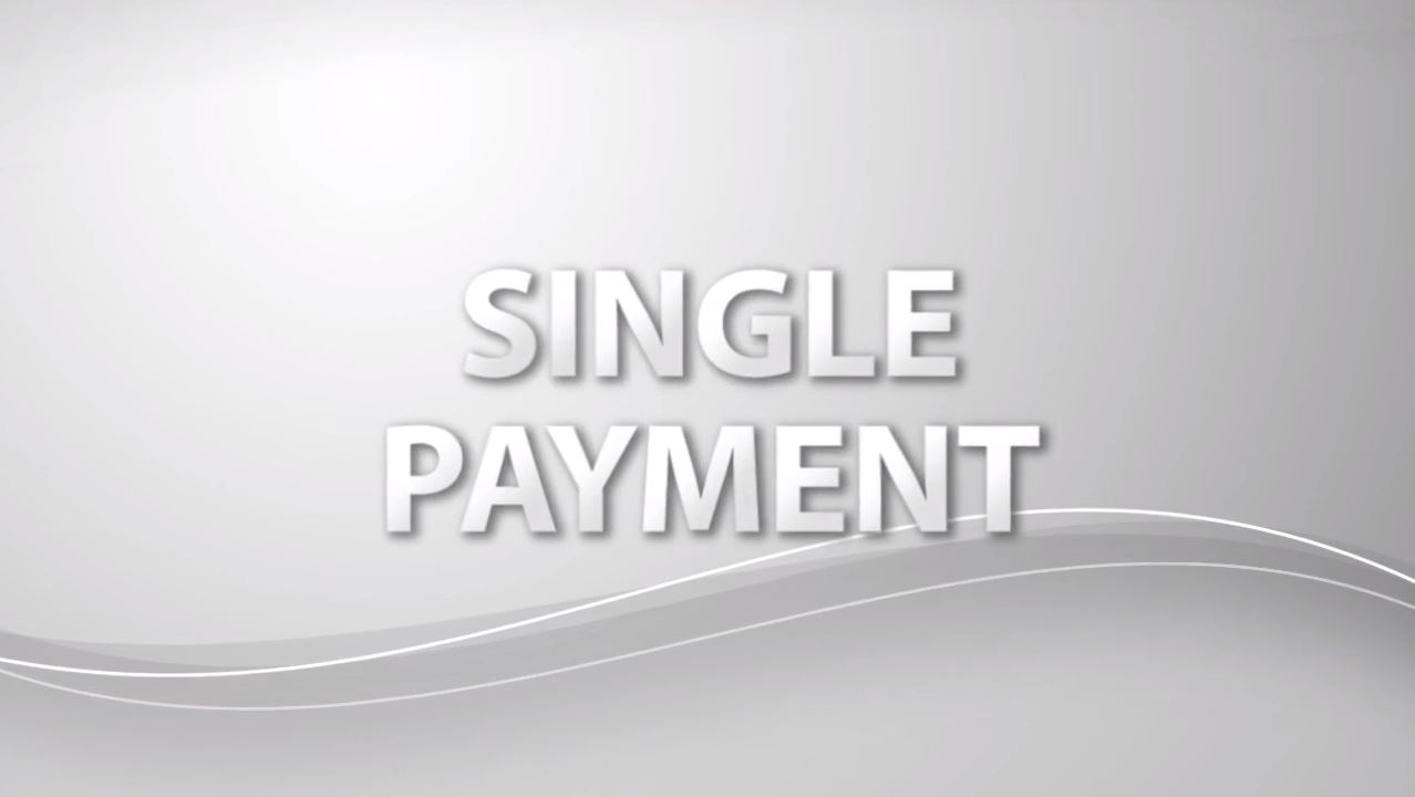 Single Payment