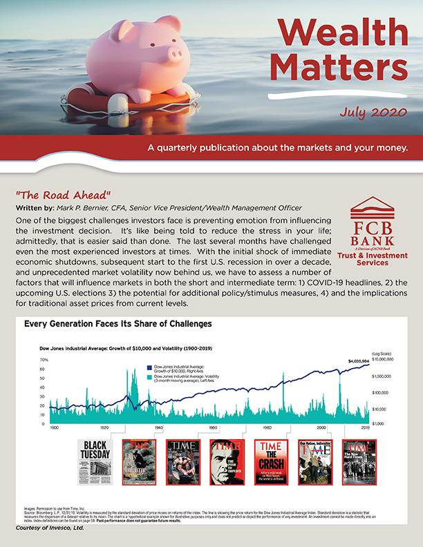 July Wealth Matters Newsletter